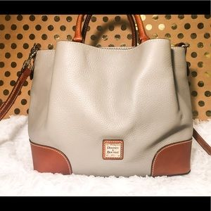 Dooney and Bourke Brenna Satchel Gray